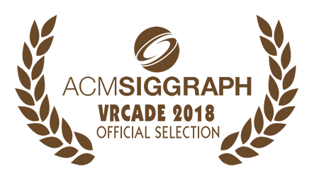 SIGGRAPH Immersive Pavilion VRCade 2018 Official Selection